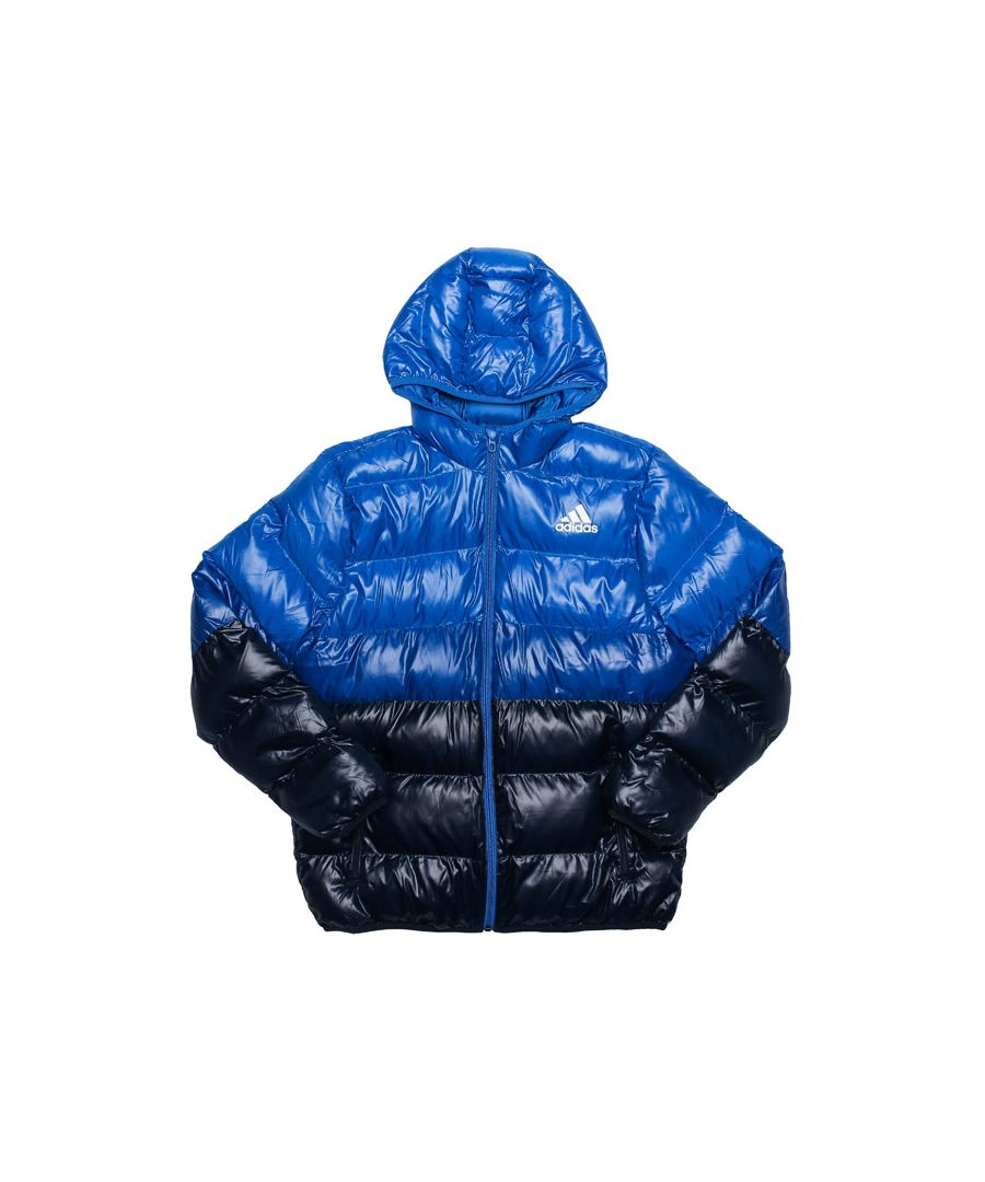 Image for Boy's adidas Junior Synthetic Down Jacket in Blue