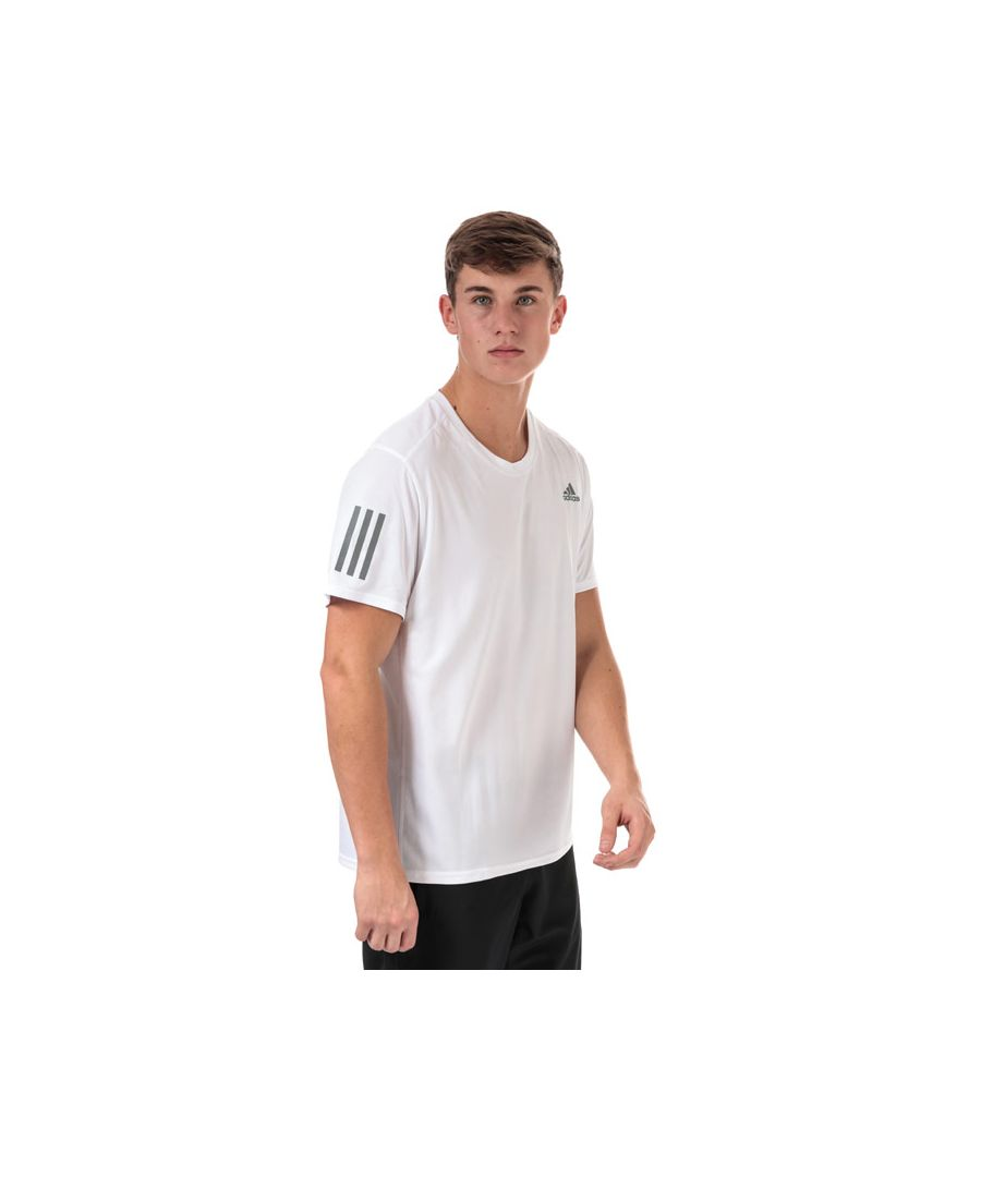 Image for Men's adidas Response T-Shirt White Lin White
