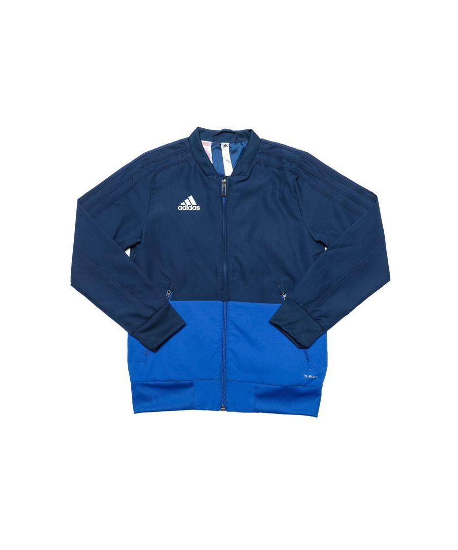Image for Boys' adidas Junior Convido 18 Presentation Jacket in Blue