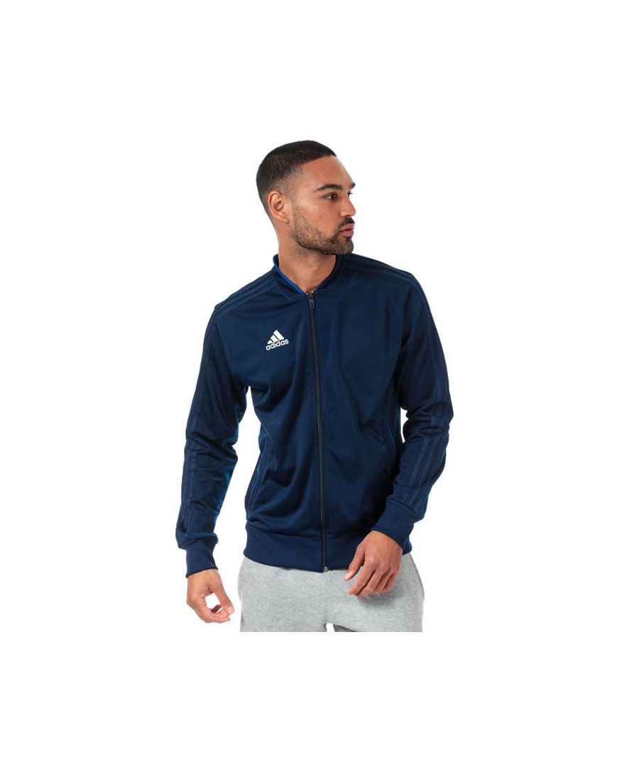 Image for Men's adidas Condivo 18 Polyester Jacket in Dark Blue