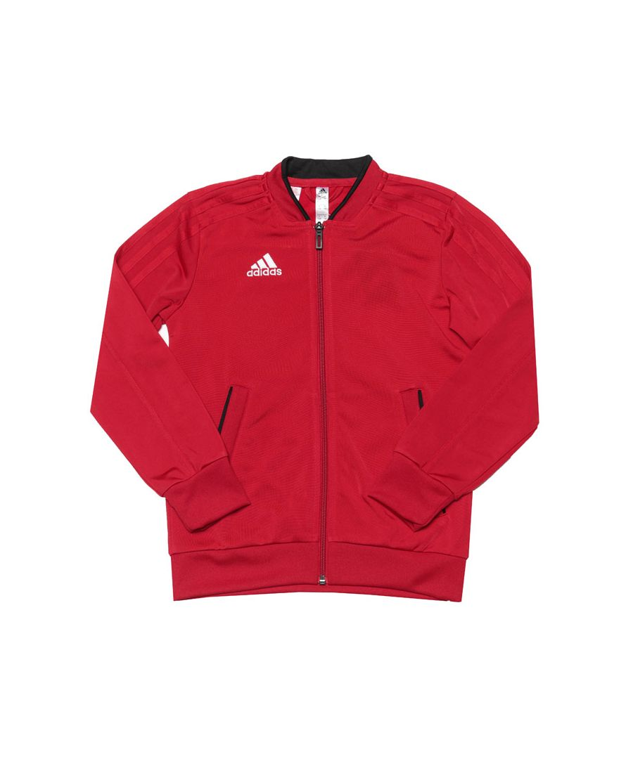Image for Boy's adidas Infant Condivo 18 Presentation Jacket in Red