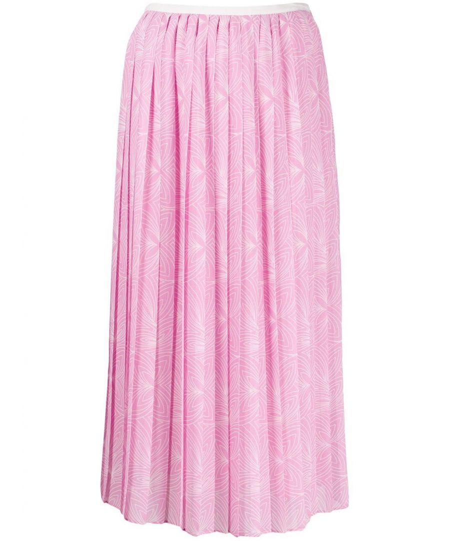 Image for SEE BY CHLOÉ WOMEN'S CHS20SJU020269O5 PINK VISCOSE SKIRT