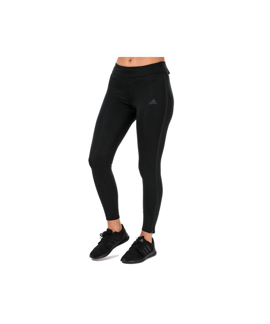 Image for Women's adidas Response Long Running Tights Black 16-18in Black