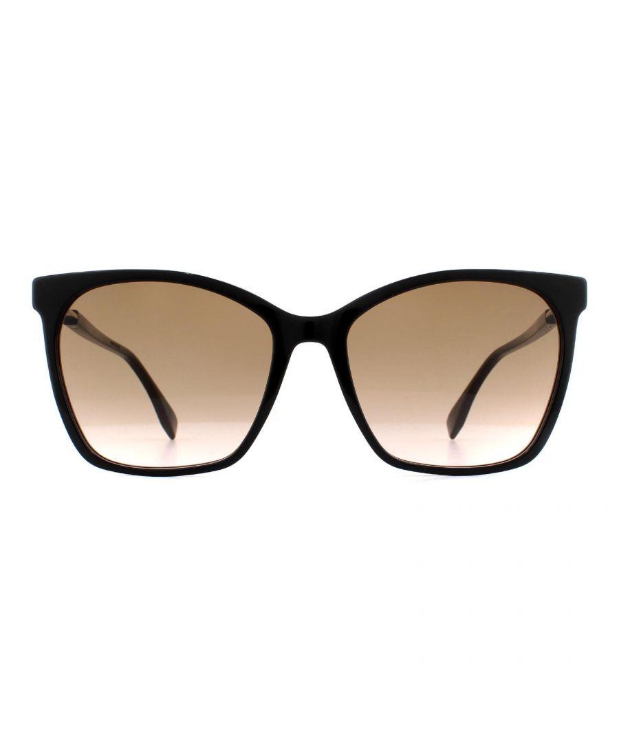 Image for Fendi Sunglasses FF 0344/S 807 M2 Black Brown Gradient