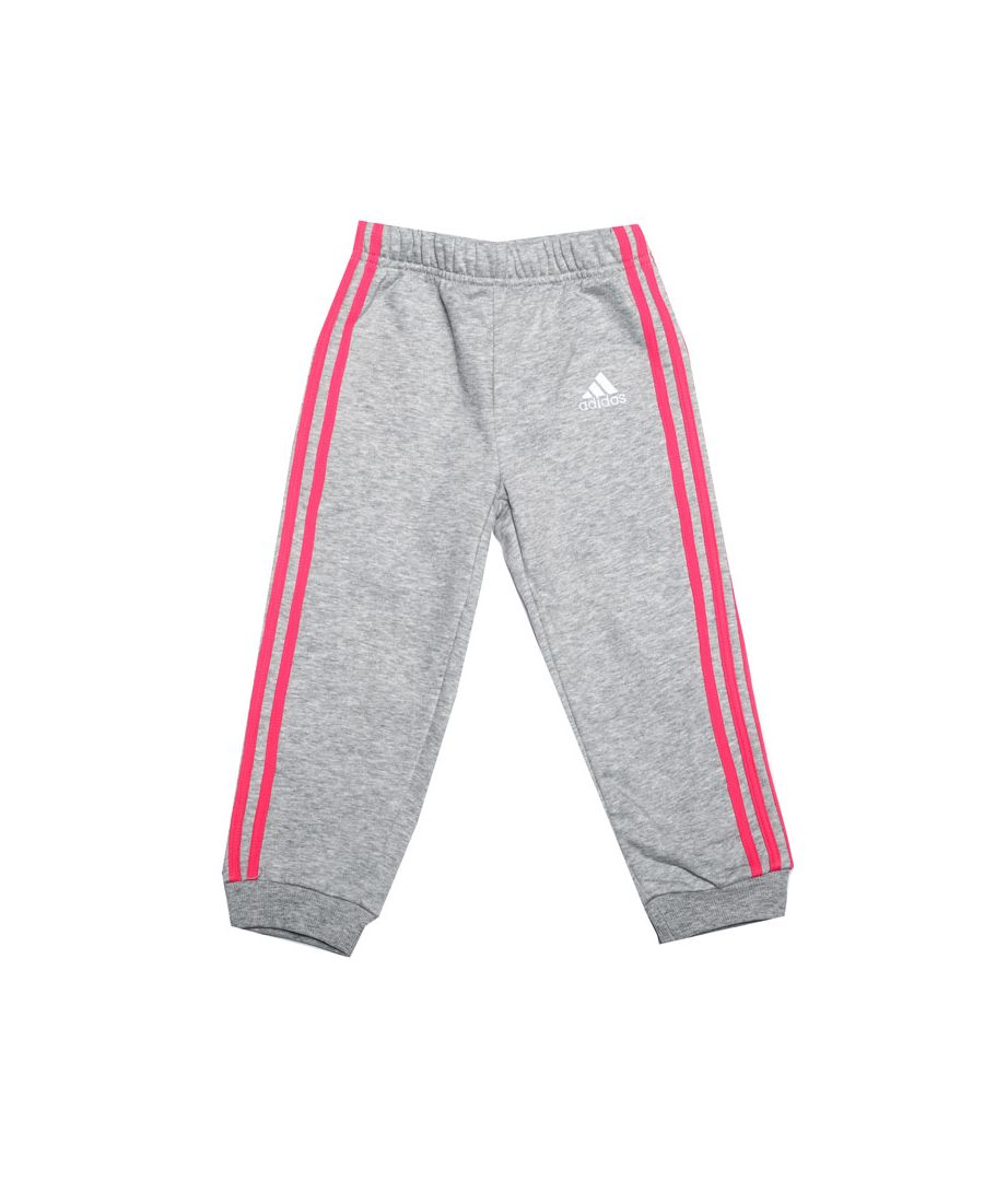 Image for Girl's adidas Baby Favourite Knit Jog Pant in Grey Heather