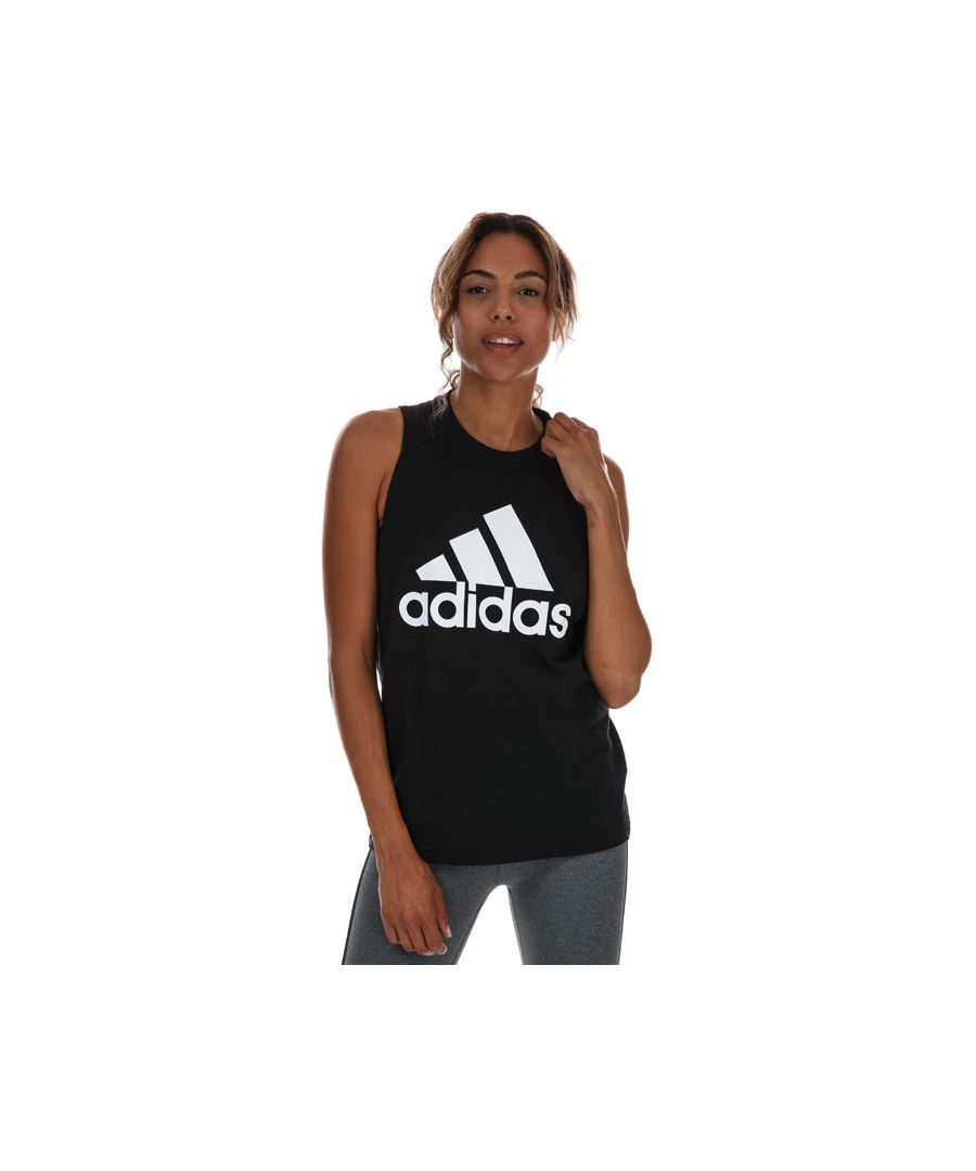 Image for Women's adidas Badge Of Sport Cotton Tank Top in Black