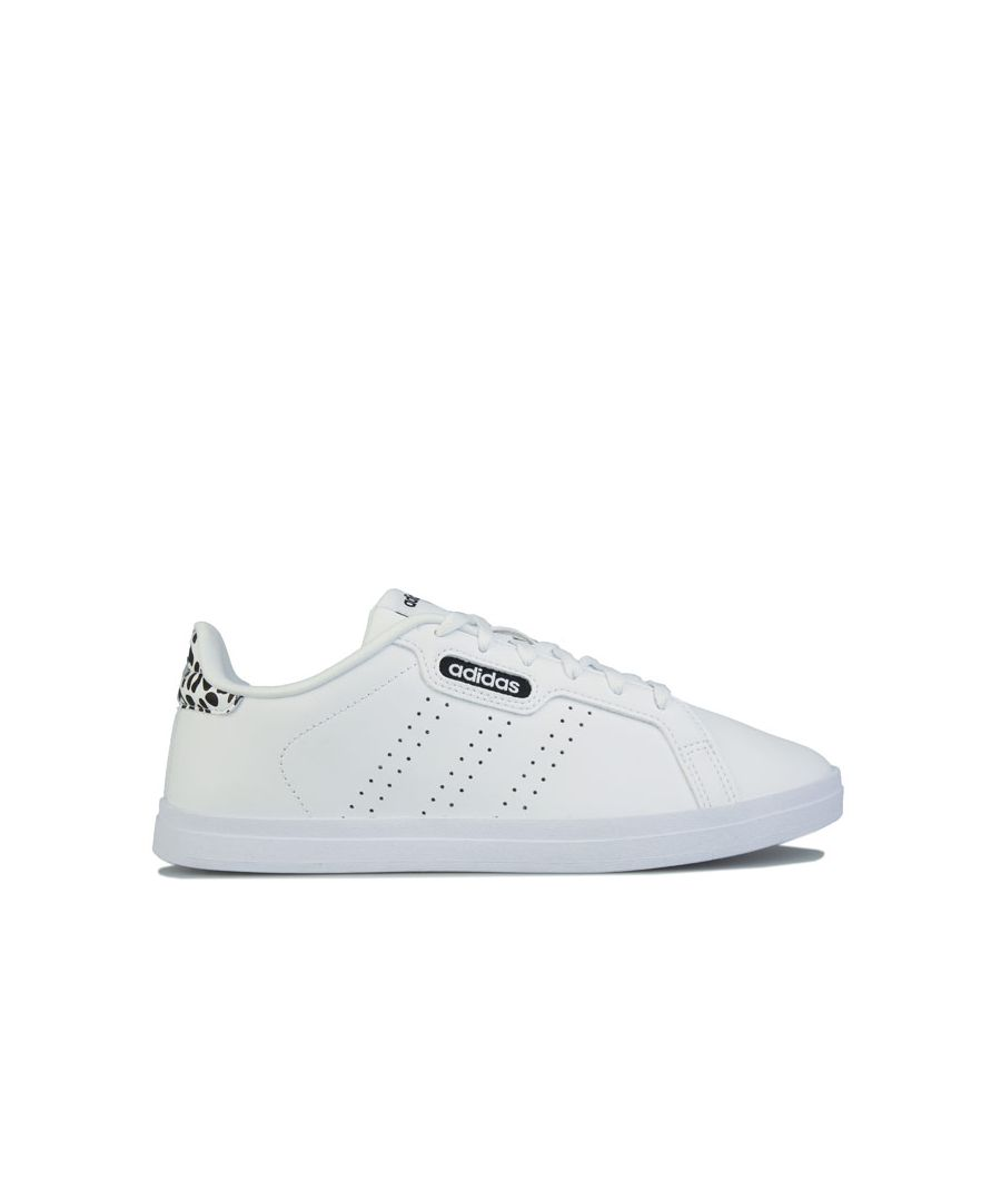Image for Women's adidas Courtpoint CL X Trainers in White Black