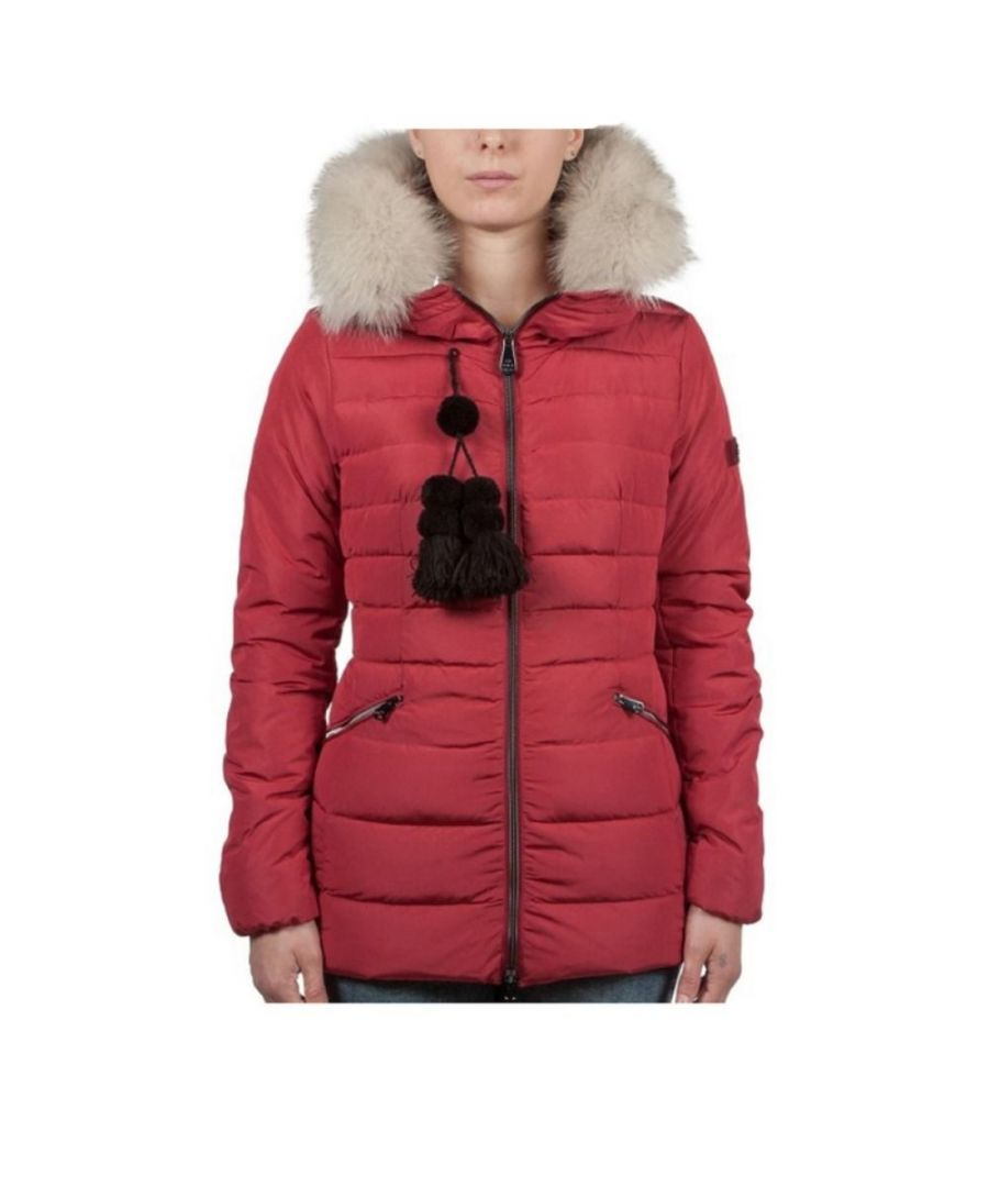 Image for PEUTEREY WOMEN'S TURMALET02FUR023 RED POLYESTER OUTERWEAR JACKET