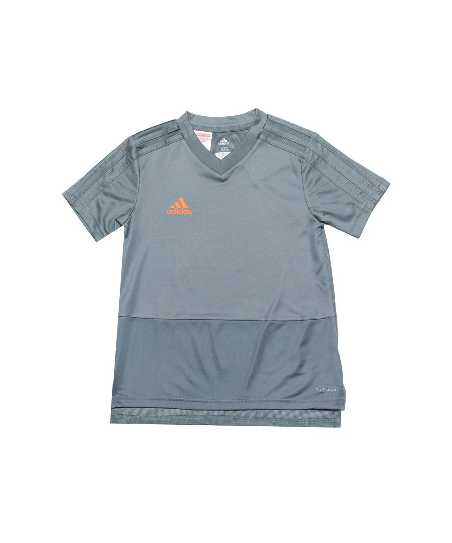 Image for Boy's adidas Infant Condivo 18 Training Jersey in Grey