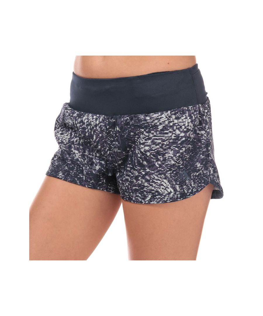 Image for Women's adidas Supernova Glide Print Shorts in Dark Blue