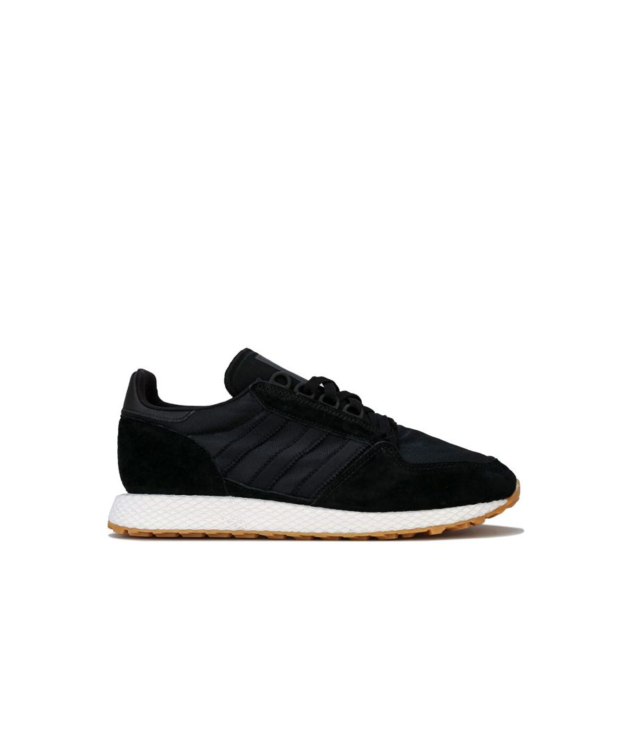 Image for Men's adidas Originals Forest Grove Trainers in Black