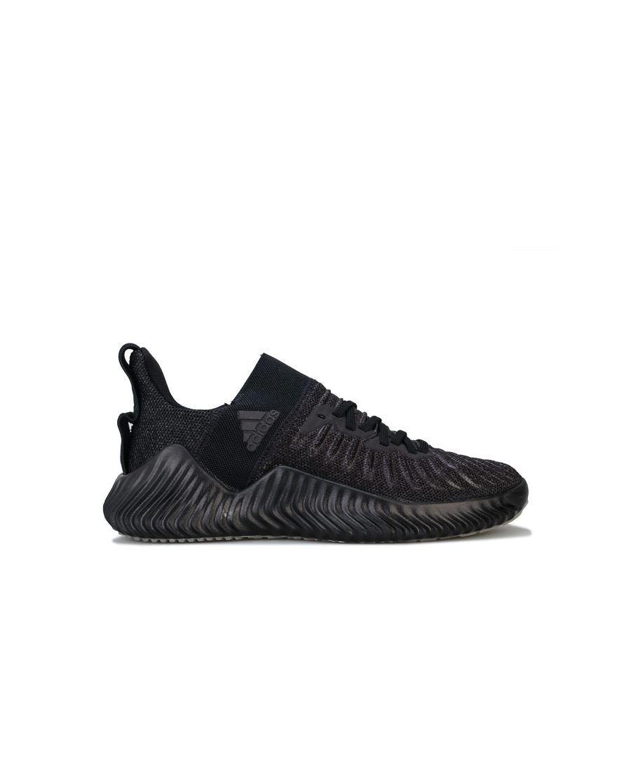 Image for Men's adidas Alphabounce Trainers in Black