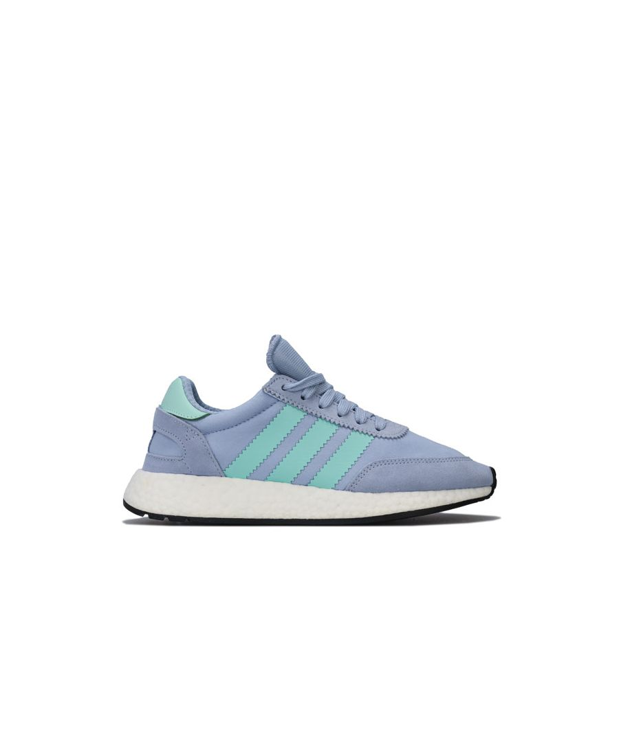 Image for Women's adidas Originals I-5923 Trainers in Light Blue