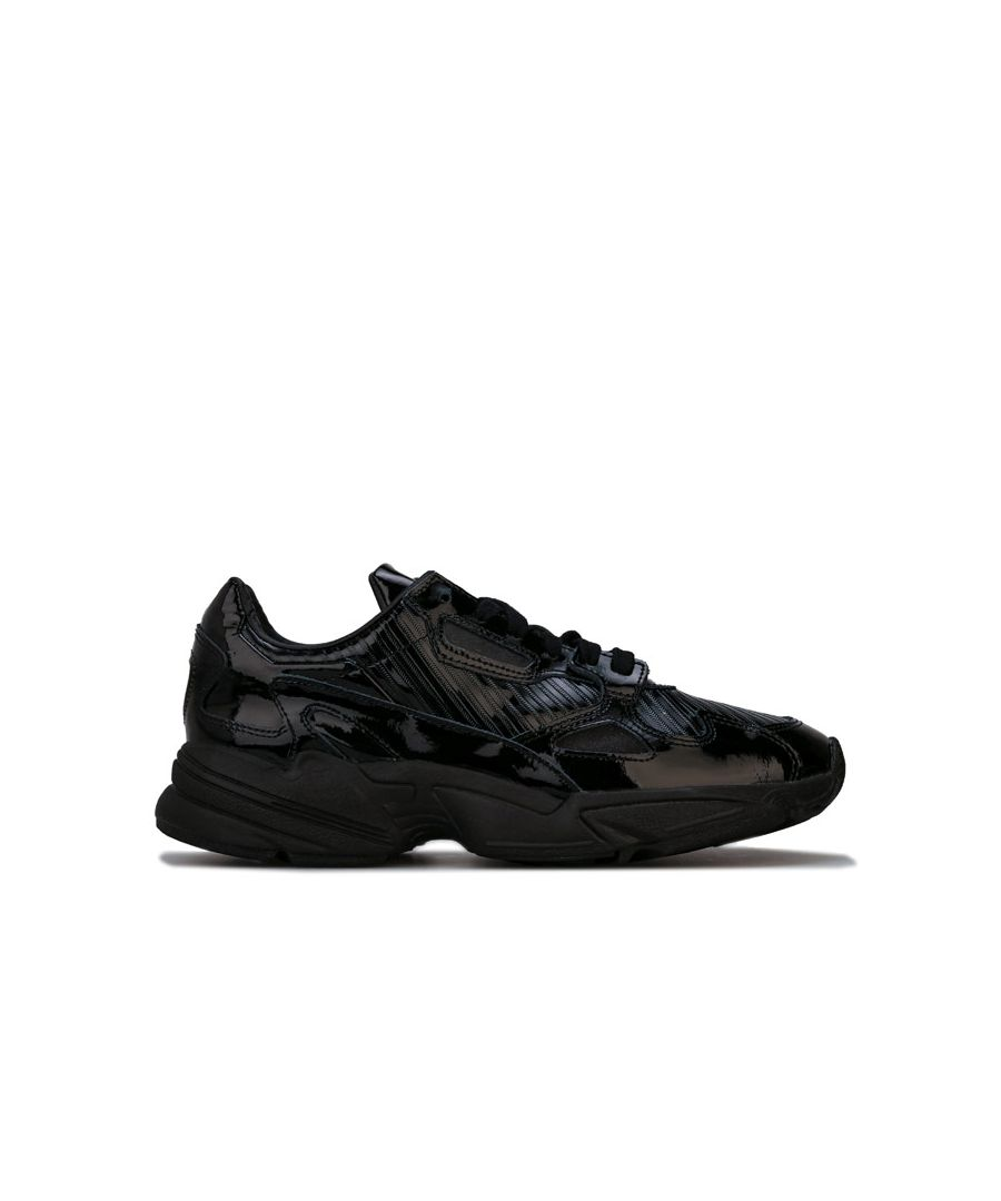 Image for Women's adidas Originals Falcon Trainers in Black