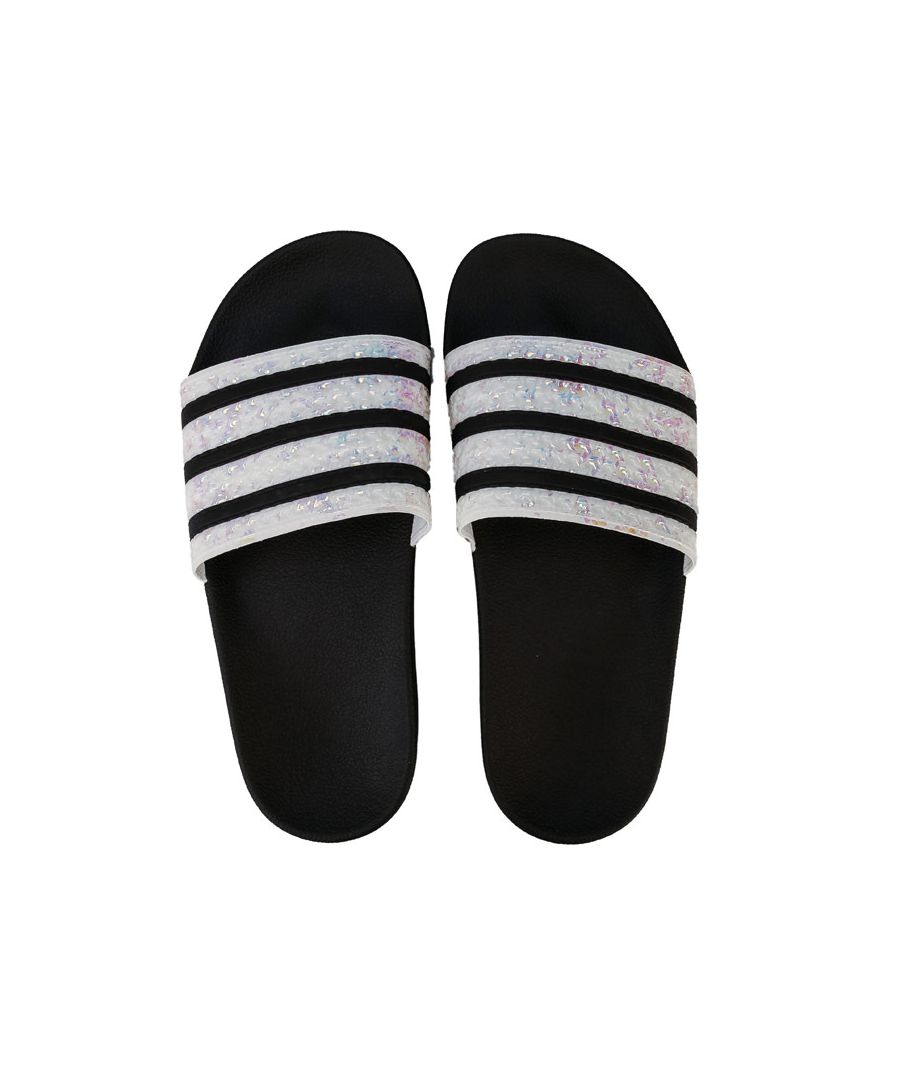 Image for Women's adidas Originals Adilette Slide Sandals in Black