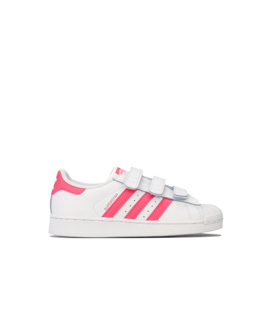 Image for Girl's adidas Originals Children Superstar Trainers in White