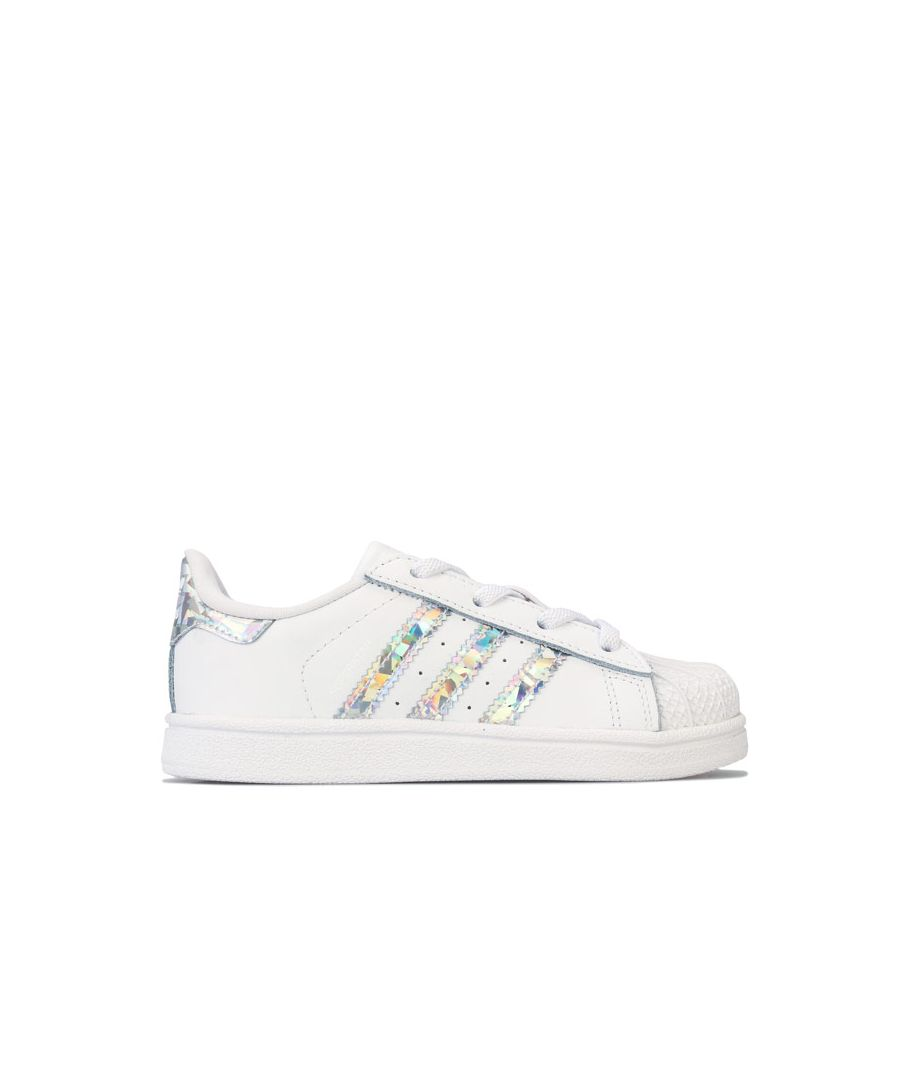 Image for Girl's adidas Originals Infant Superstar Trainers in White