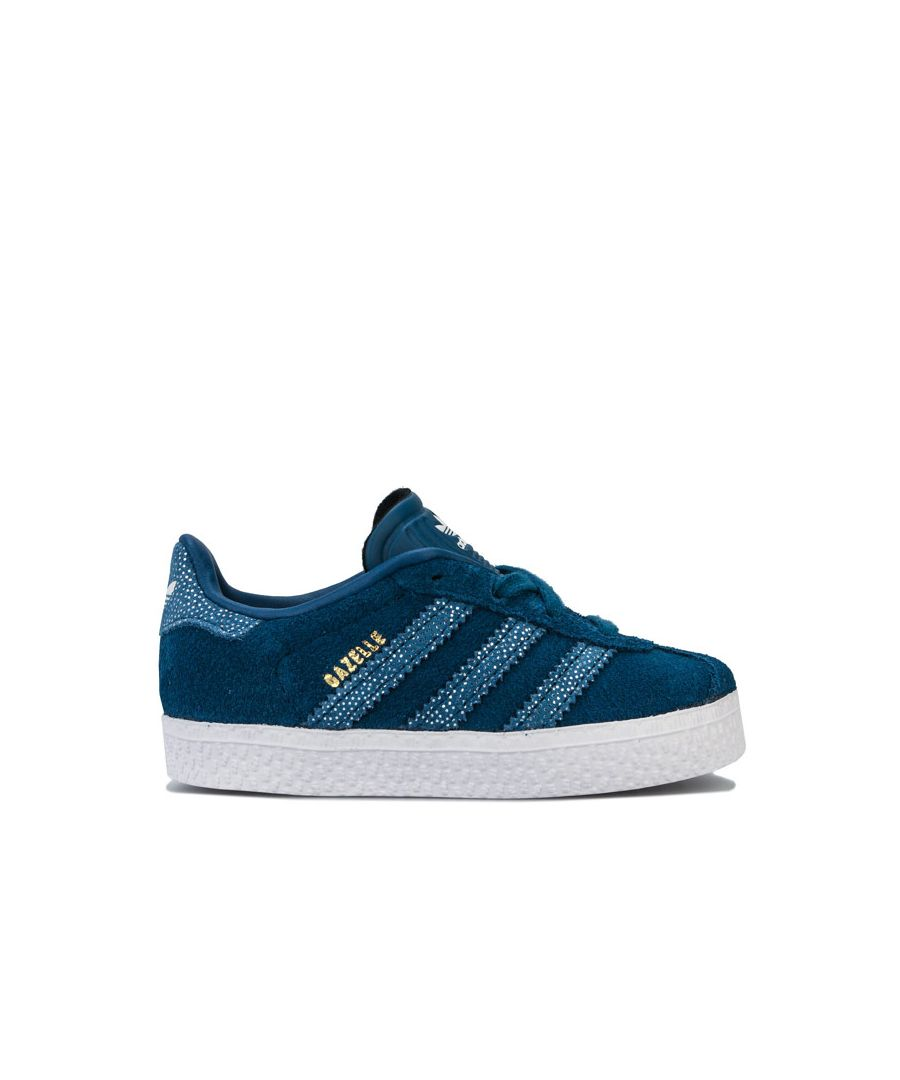 Image for Boy's adidas Originals Infant Gazelle Trainers in Navy
