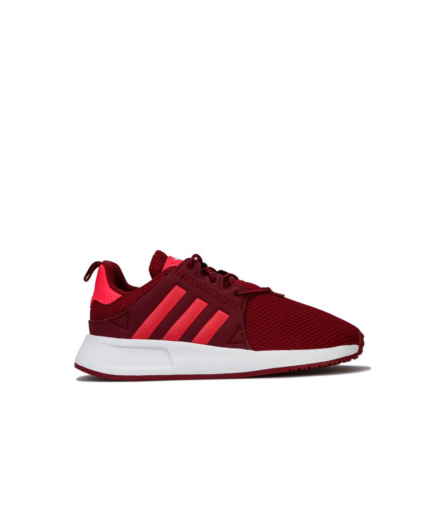 Image for Girl's adidas Infant X_PLR EL Trainers in Burgundy