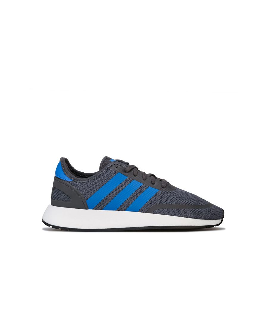 Image for Boy's adidas Originals Junior N-5923 Trainers in Grey