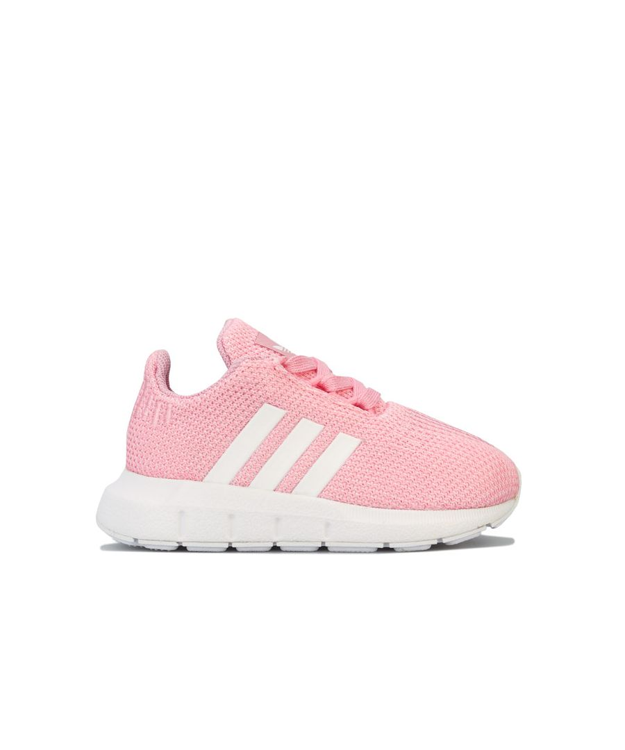 Image for Girl's adidas Originals Infant Swift Run Trainers in Pink
