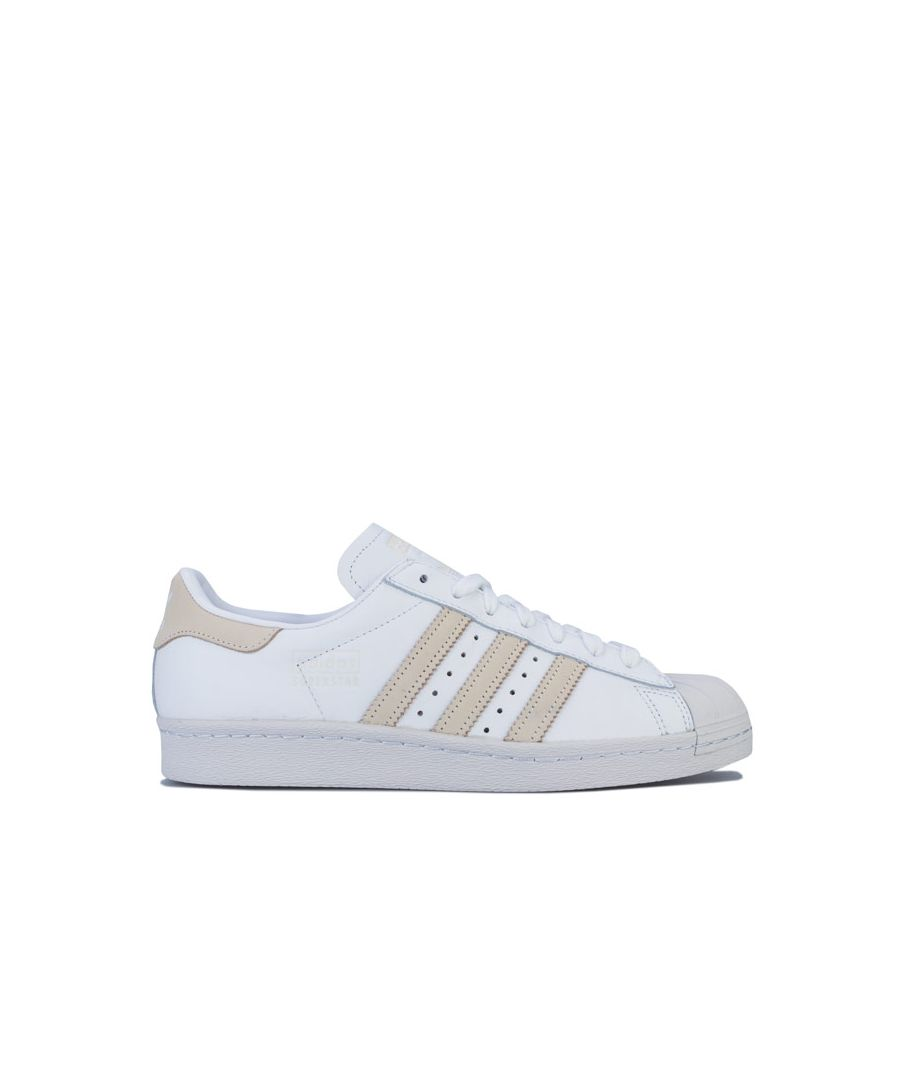 Image for adidas Originals Superstar 80s Trainers in White