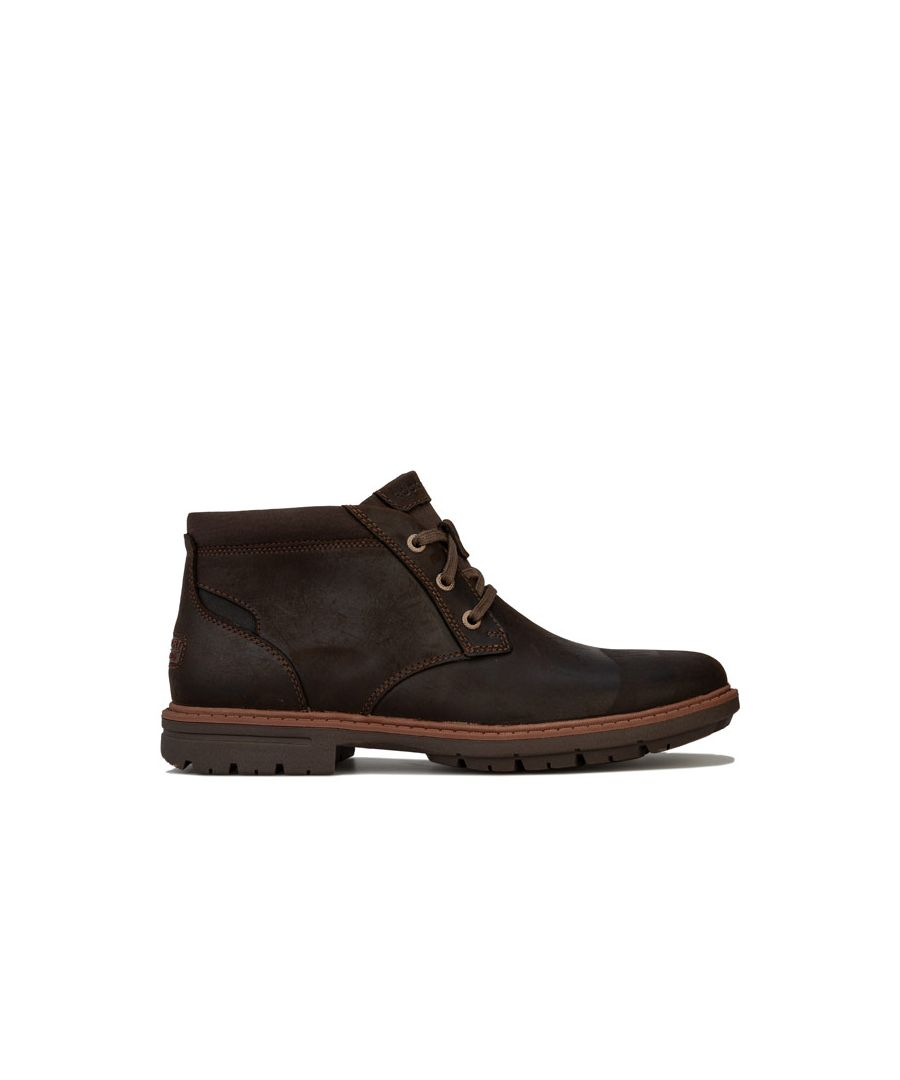Image for Men's Rockport Tough Bucks Chukka Boots in Chocolate