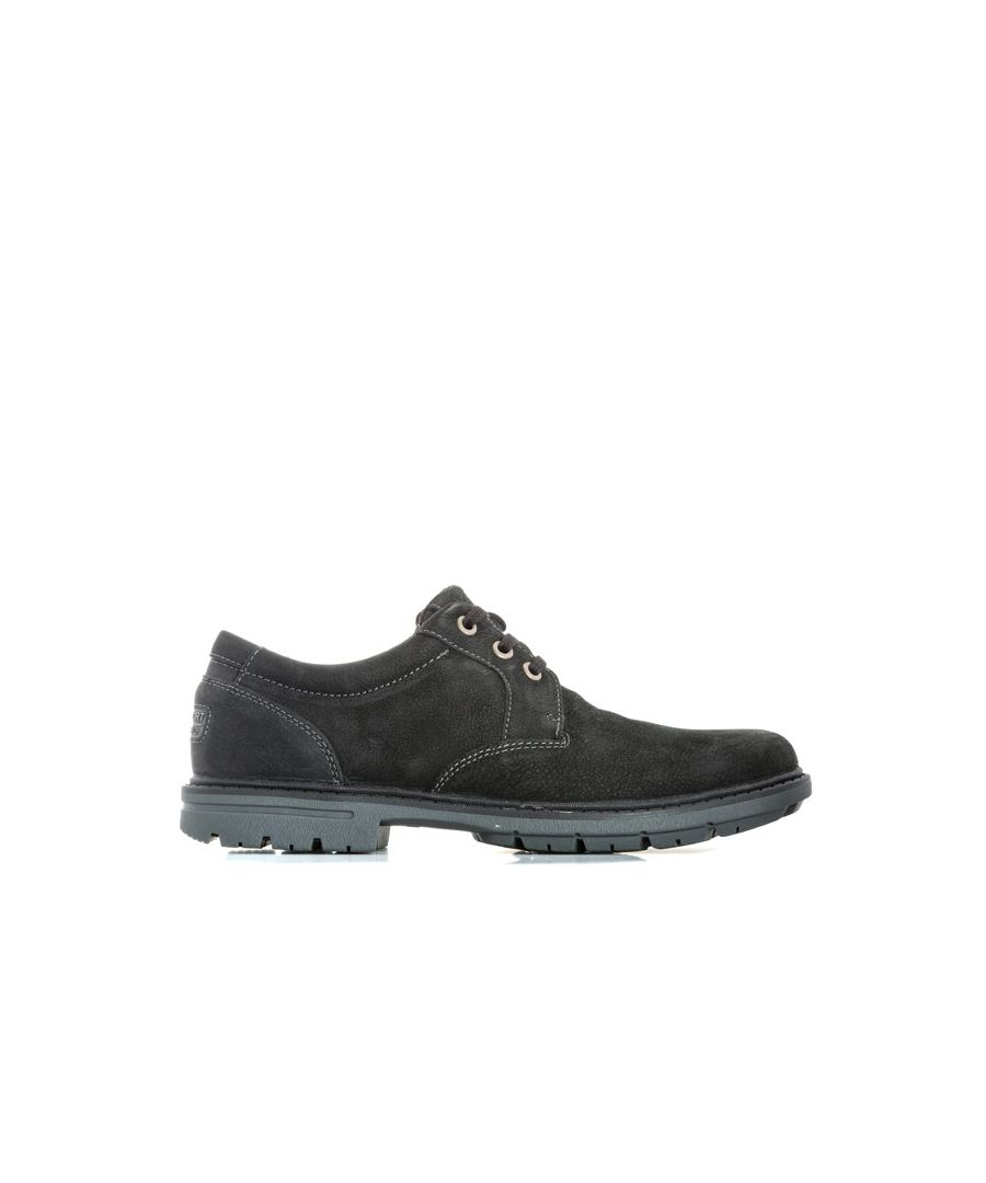 Image for Men's Rockport Tough Bucks Oxford Shoe in Black
