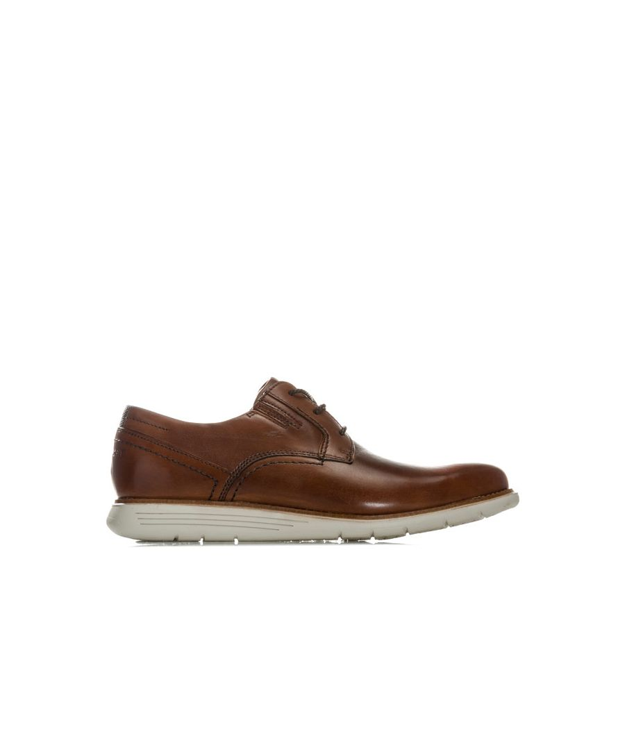 Image for Men's Rockport Total Motion Dress Plain Toe Shoe in Tan