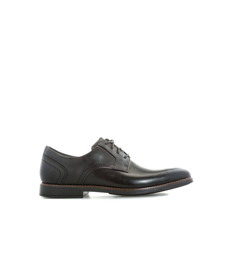 Image for Men's Rockport Men Slayter Plain Toe Shoes in Black