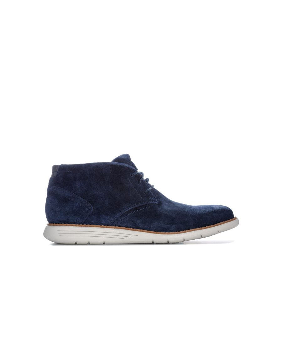 Image for Men's Rockport Total Motion Sport Chukka Boot in Navy