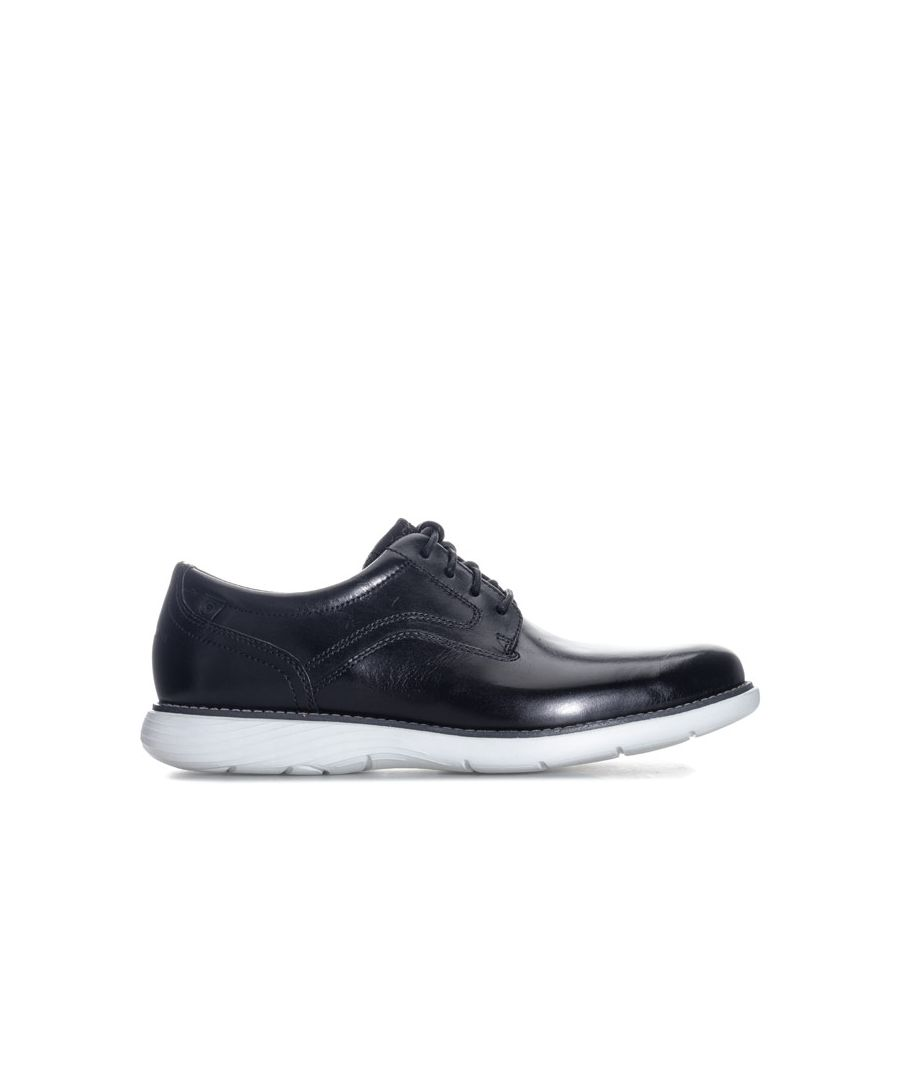 Image for Men's Rockport Garett Plain Toe Shoe in Black