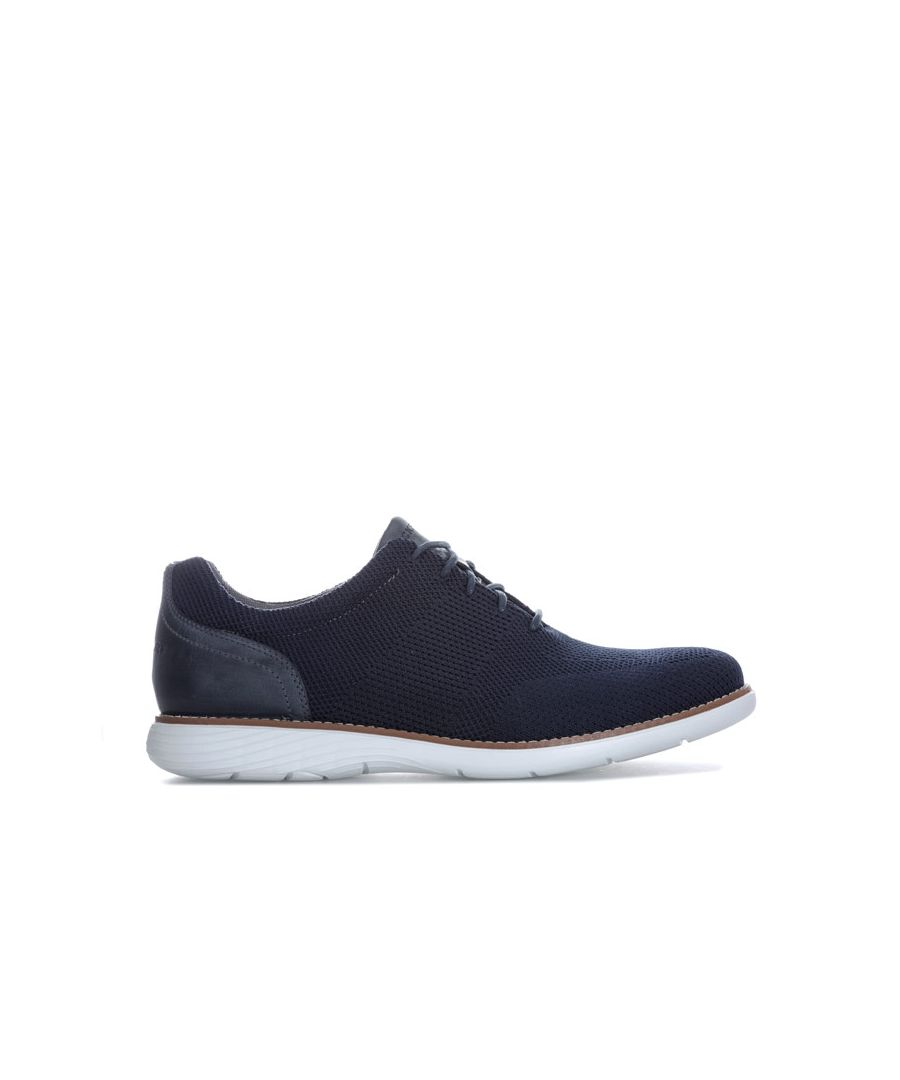 Image for Men's Rockport Garett Mesh Lace Up Shoe in Navy