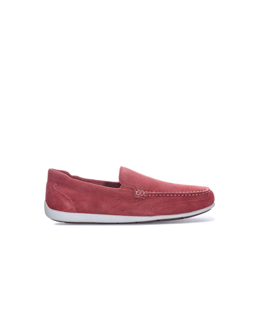Image for Men's Rockport Bennett Lane 4 Venetian Slip On Shoes in Red