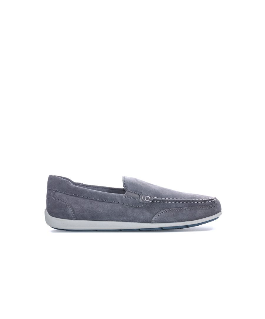 Image for Men's Rockport Bennett Lane 4 Venetian Slip On Shoes in Grey