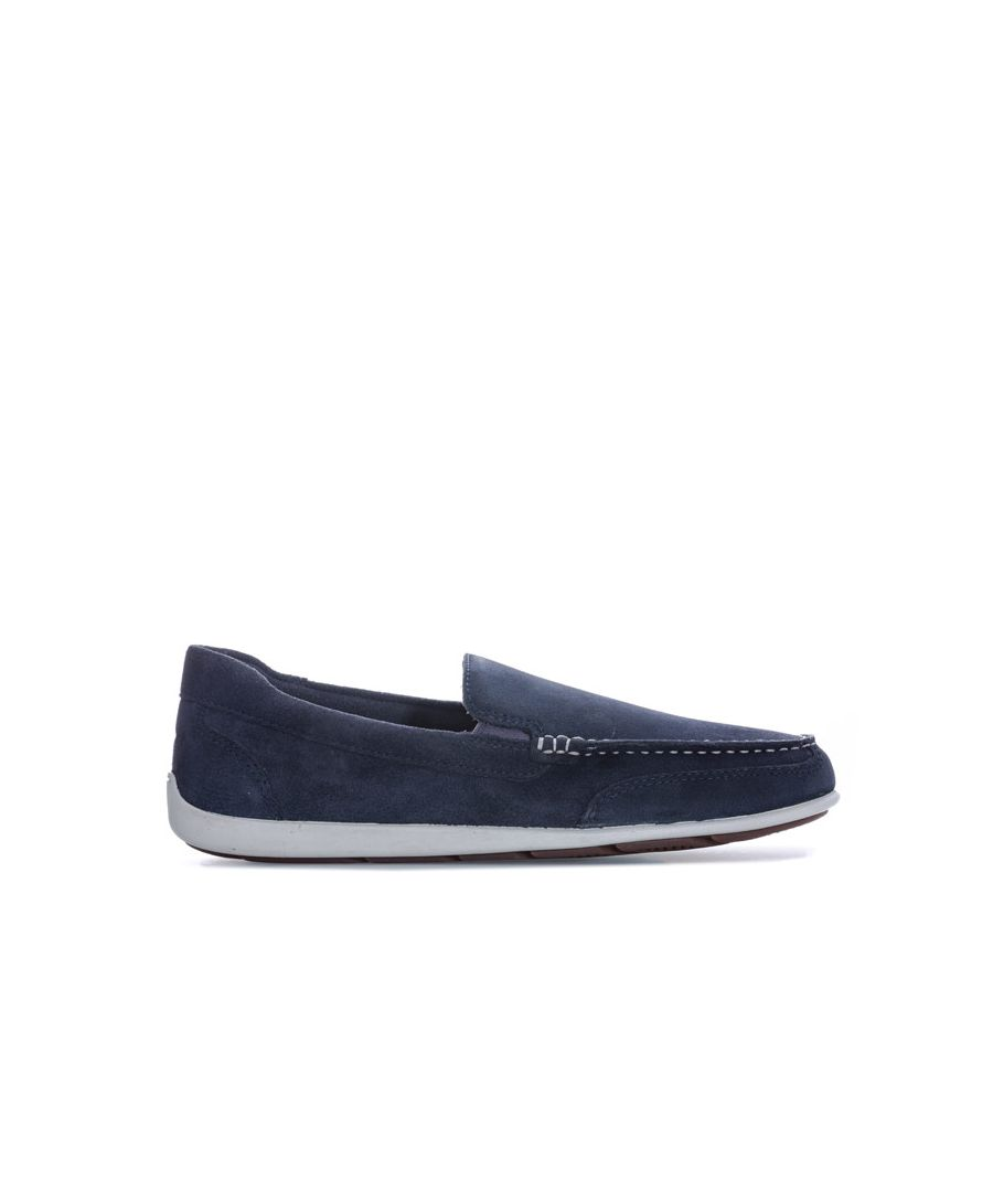 Image for Men's Rockport Bennett Lane 4 Venetian Slip On Shoes in Navy