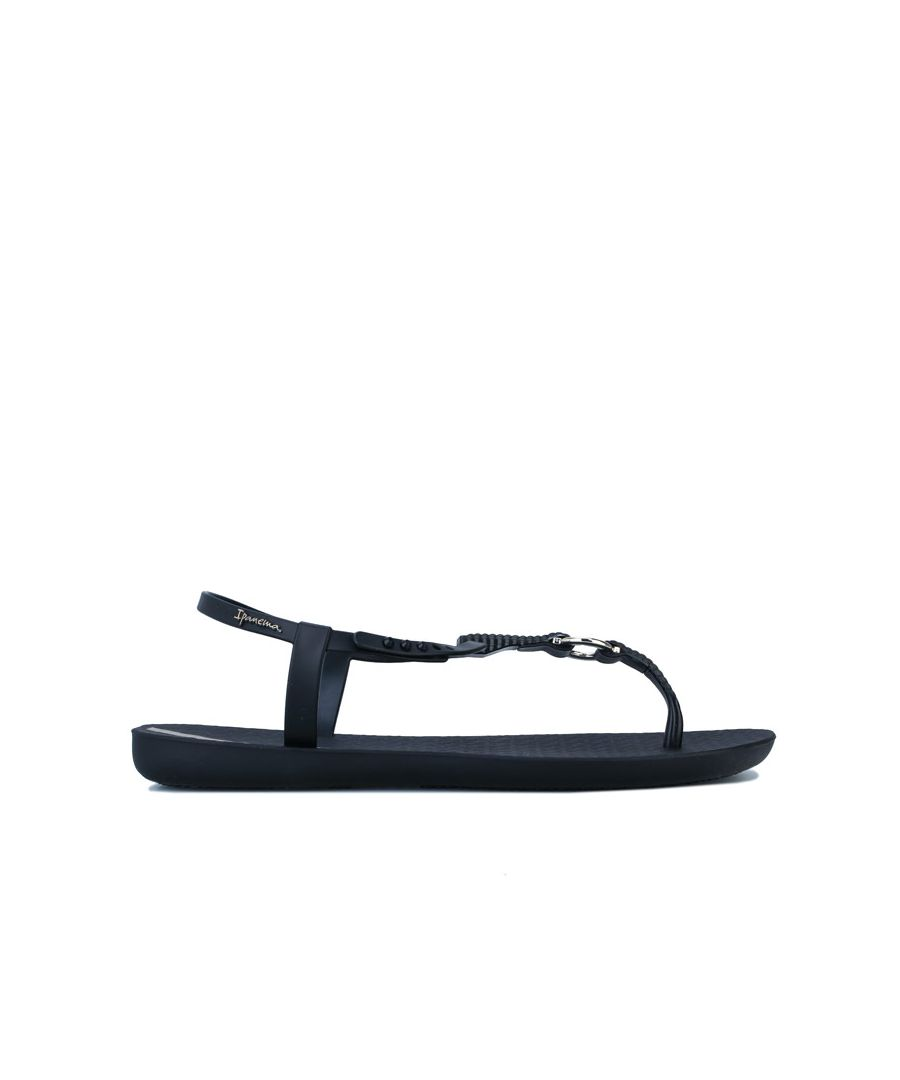 Image for Women's Ipanema Charm Link Sandals in Black