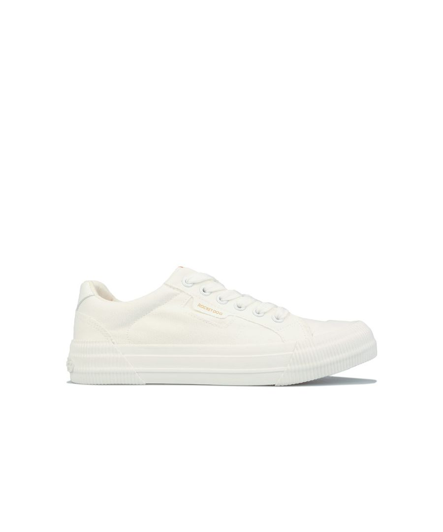 Image for Women's Rocket Dog Cheery Canvas Pumps White UK 4in White