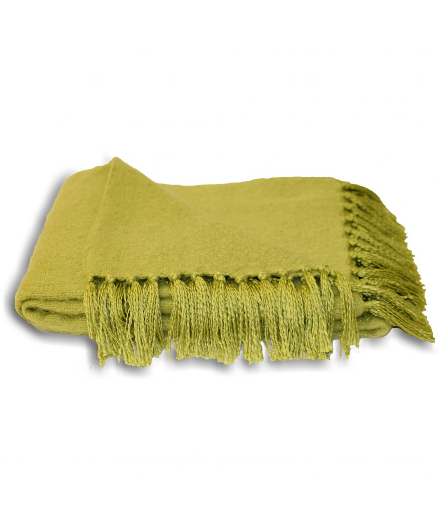 Image for Chiltern Throw 127X180 Lime
