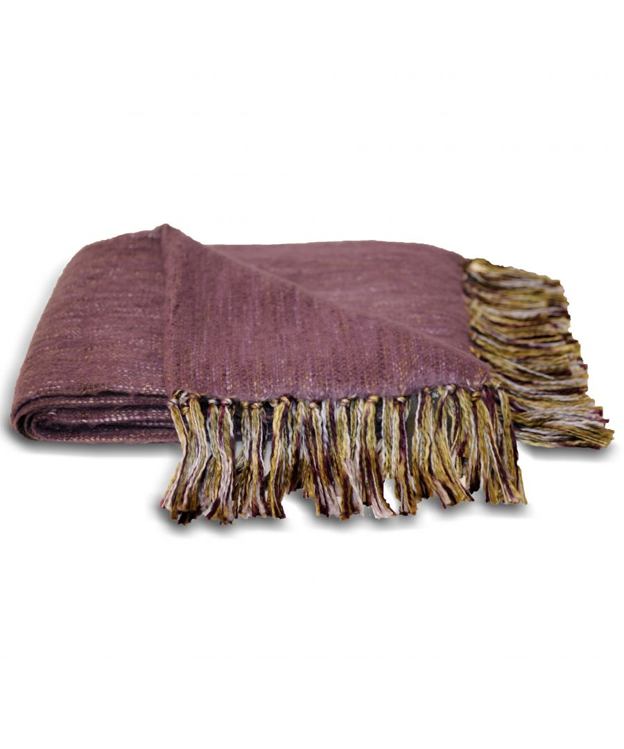 Image for Chiltern Throw 127X180 Plum