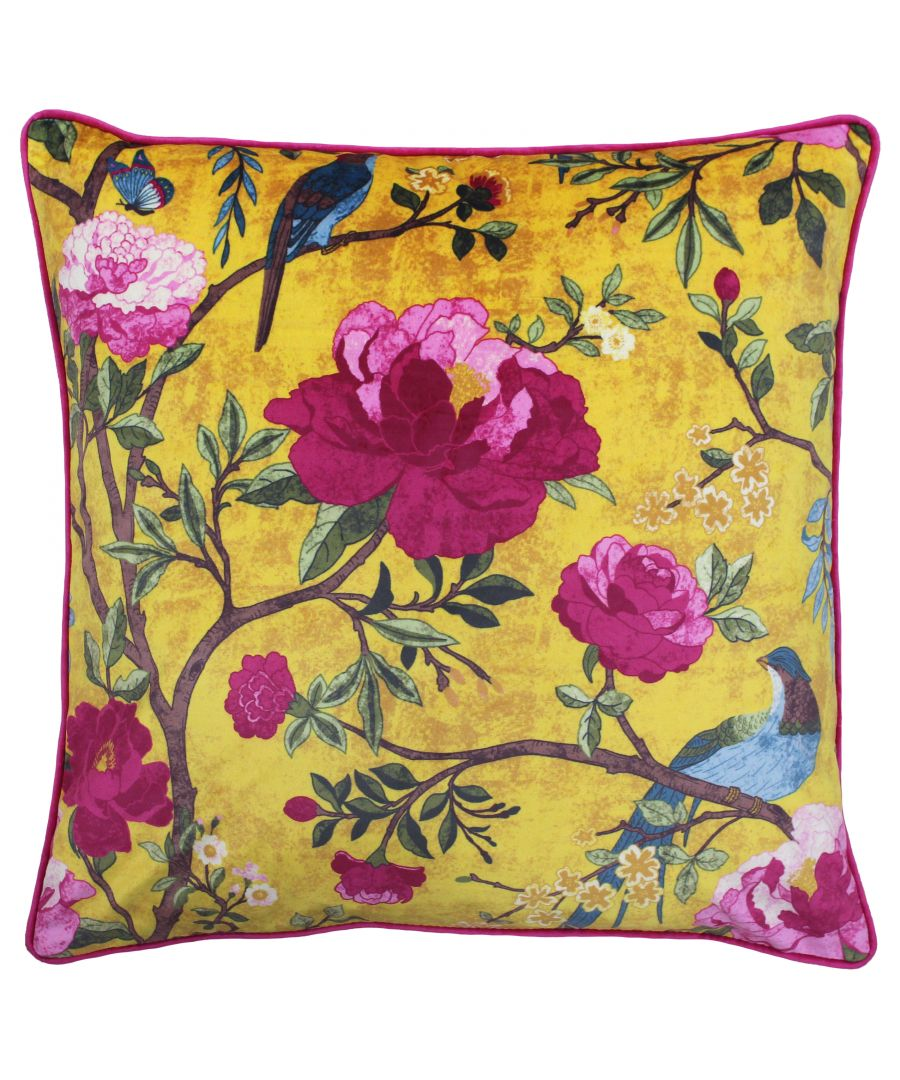 Image for Chinoiserie Polyester Filled Cushion