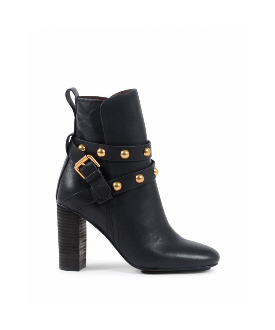 Image for Chloè Womens Ankle Boot Black SB31146A 999 BLACK