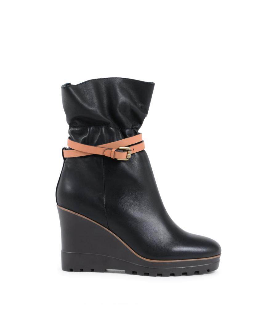 Image for Chloè Womens Short Boot Black SB31111A 999 BLACK