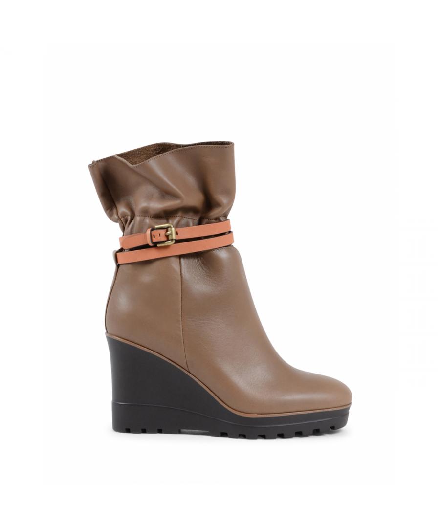 Image for Chloè Womens Short Boot Green SB31111A 415 KAKY