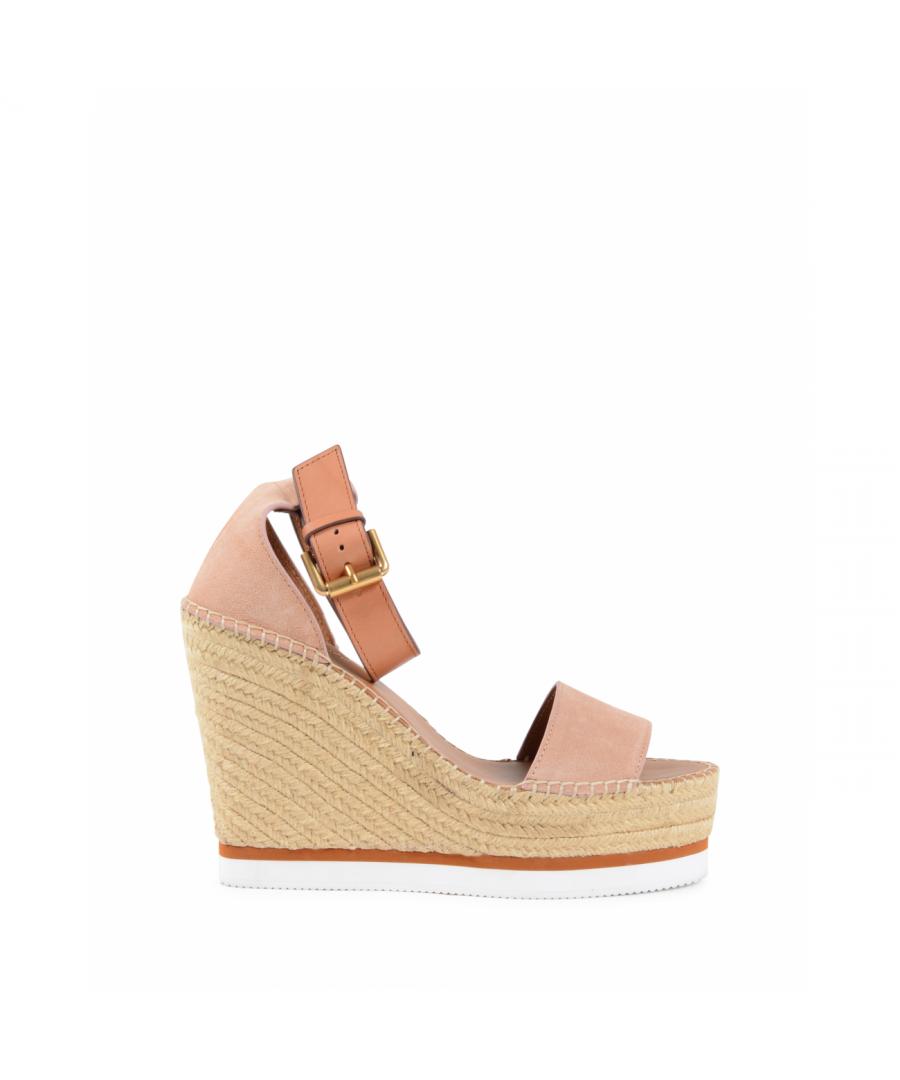 Image for Chloe Womens Wedge Sandal Pink SB26150A CIPRIA SIERRA