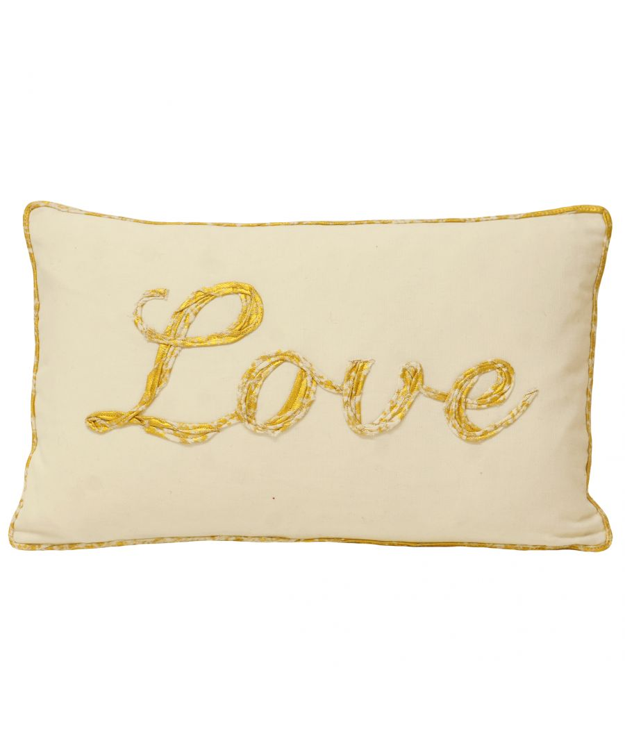 Image for Christmas Tide Love Polyester Filled Cushion