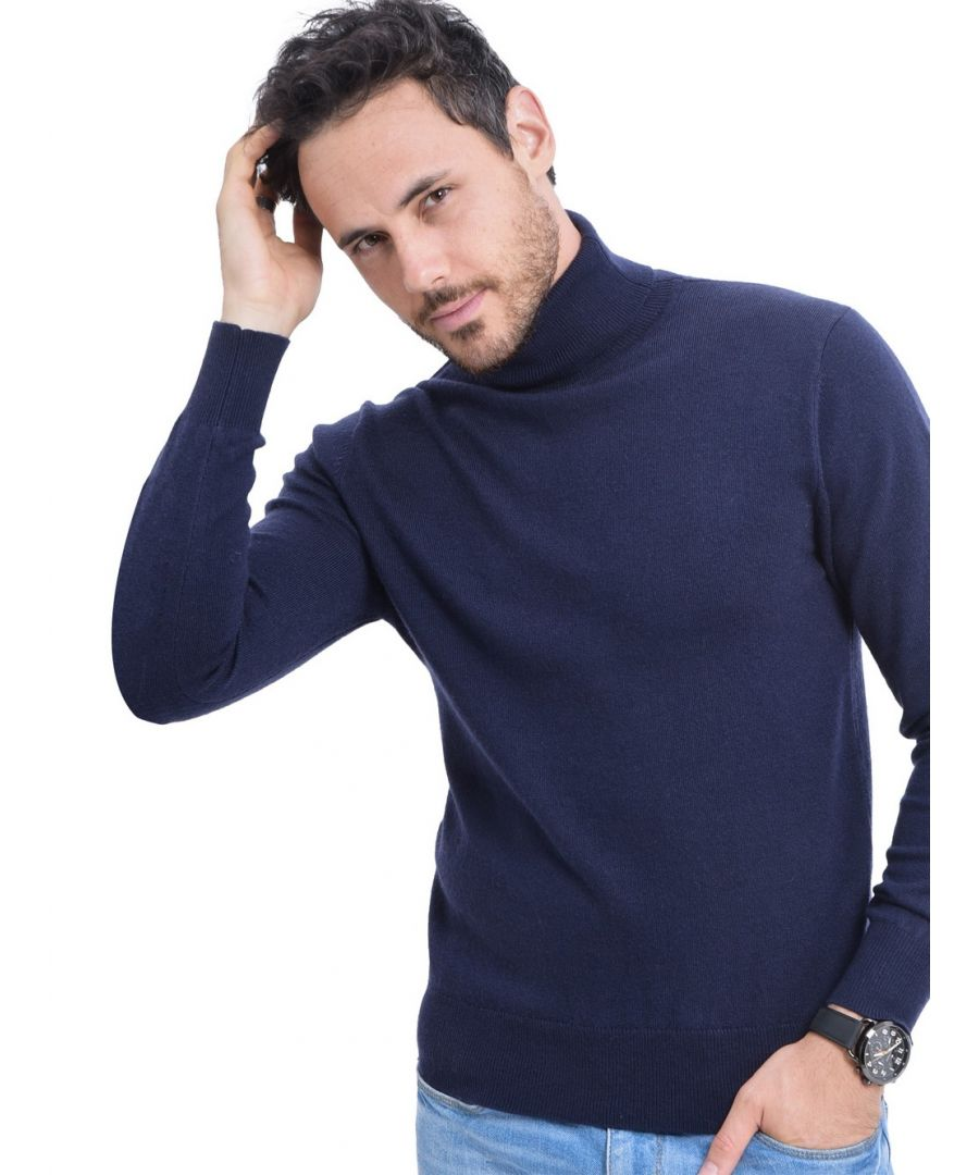 Image for C&JO Turtleneck Sweater in Navy