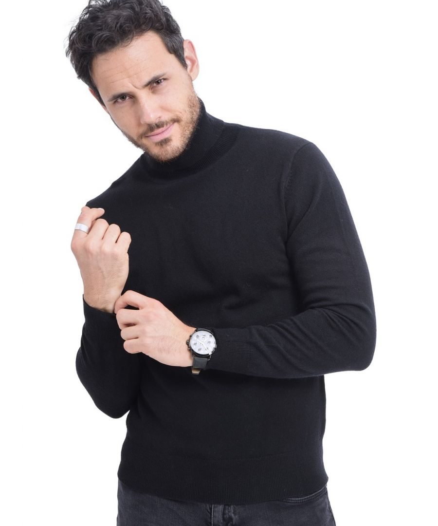 Image for C&JO Turtleneck Sweater in Black