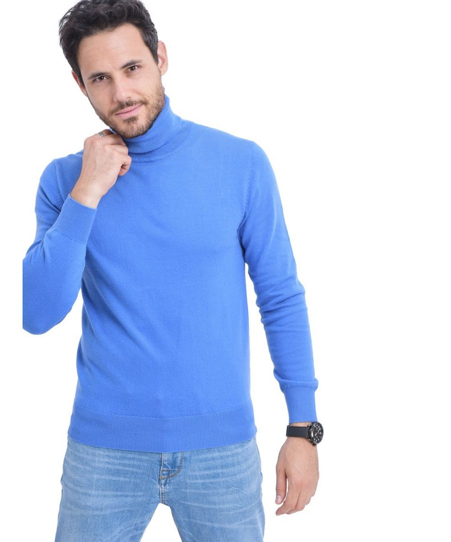 Image for C&JO Turtleneck Sweater in Blue