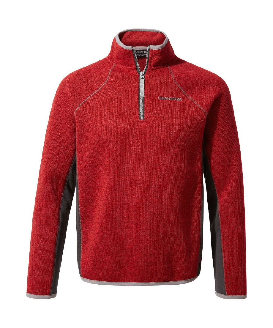 Image for Craghoppers Boys Abilio Insualted Half Zip Fleece Jacket